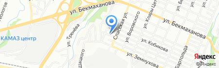 КазМежТранс на карте Алматы