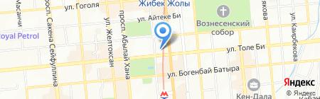 Verbena White на карте Алматы