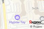 Схема проезда до компании ACG group в Алматы