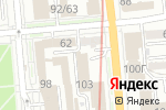Схема проезда до компании Bestinterior в Алматы