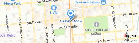 Центральная аптека на карте Алматы