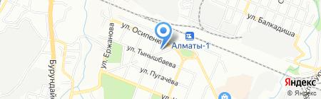 Иртыш на карте Алматы
