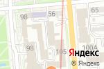 Схема проезда до компании Capital Bank Kazakhstan в Алматы