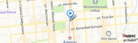 Green Penguin Media ТОО на карте Алматы
