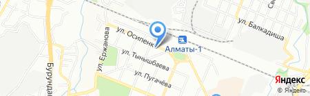 B.Y. Legal Services на карте Алматы