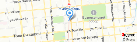 Нотариус Когамова А.Т. на карте Алматы