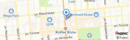 Twist на карте Алматы
