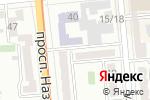 Схема проезда до компании Алматинская юридическая корпорация в Алматы