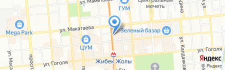 Ёла на карте Алматы
