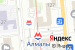 Схема проезда до компании WOW в Алматы