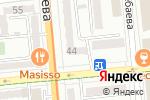 Схема проезда до компании НАМЕДНИ в Алматы