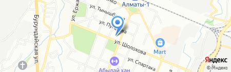 SOGNO на карте Алматы