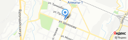 Alessandria на карте Алматы