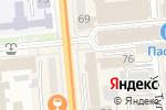 Схема проезда до компании ForteBank в Алматы