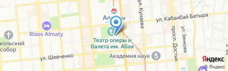 ГАТОБ на карте Алматы