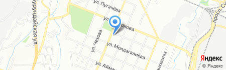 Альянс Сервис на карте Алматы