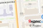 Схема проезда до компании SeoulMart в Алматы