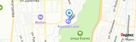 Football Land на карте Алматы