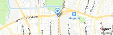 Идан на карте Алматы