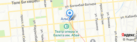 ОК на карте Алматы