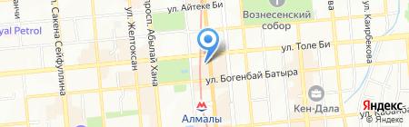 Киевский ювелирный завод на карте Алматы
