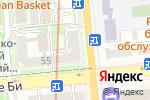 Схема проезда до компании Art Strike в Алматы