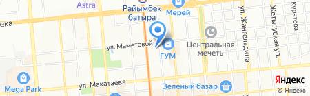 VIP 77 на карте Алматы