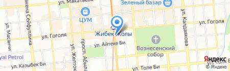 Агентство по переводам на карте Алматы