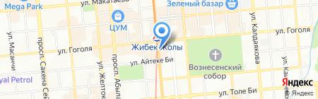 Авиакасса на карте Алматы