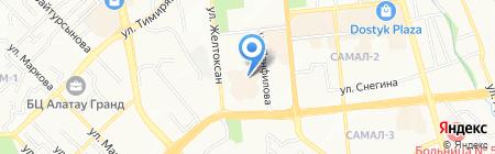 Офис-менеджмент ТОО на карте Алматы