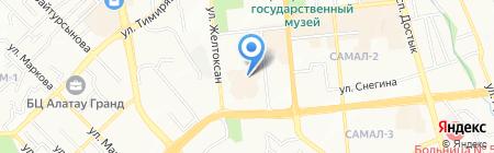 БАЗИС-ТЕЛЕКОМ на карте Алматы
