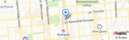 Montblanc на карте Алматы