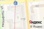 Схема проезда до компании Big Mamma`s Lab в Алматы