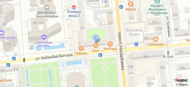 ул. Кабанбай батыра, 83, уг. ул. Панфилова