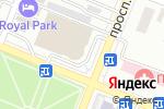 Схема проезда до компании DWS в Алматы
