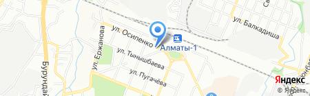 Green Money на карте Алматы