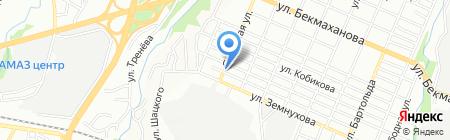 Taraz на карте Алматы