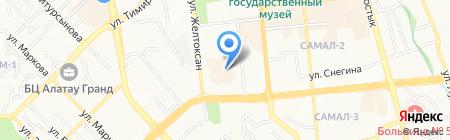 БАЗИС на карте Алматы