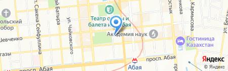 Детский сад на карте Алматы
