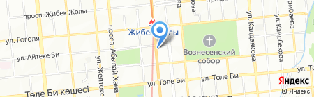 ТМК на карте Алматы