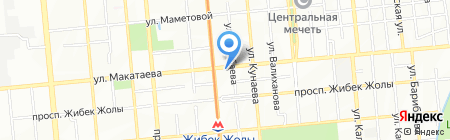 Лифт Кызмет В на карте Алматы