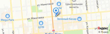 Мастерская по ремонту обуви и кожгалантереи на ул. Макатаева на карте Алматы