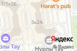 Схема проезда до компании Empire в Алматы