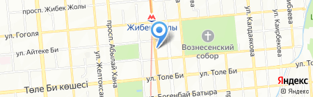 КМК Холдинг на карте Алматы
