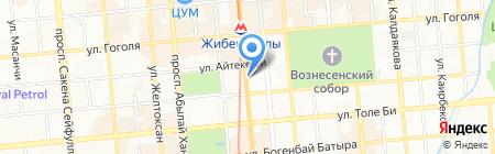British House Almaty на карте Алматы