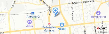 Nord приводы KZ на карте Алматы