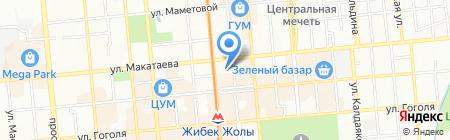 BeeGooDee на карте Алматы