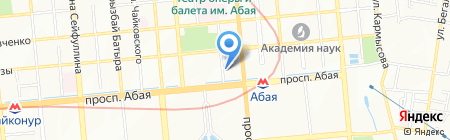 DDF на карте Алматы