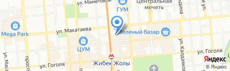 Netwell.kz на карте Алматы