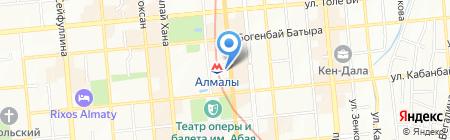 Шаштараз на ул. Фурманова на карте Алматы